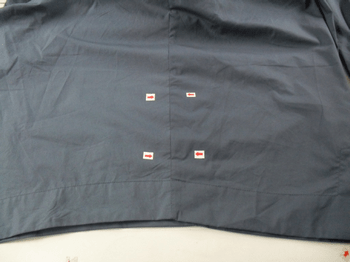 shade variation in fabric defects