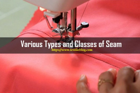 types and classes of seams