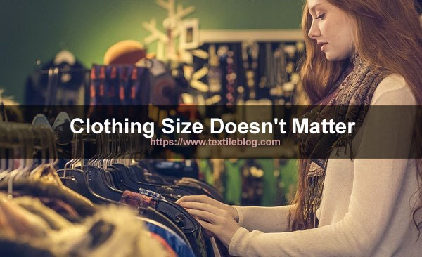 clothing size what you wear
