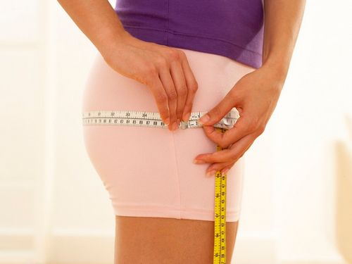 Measure your waist and hips