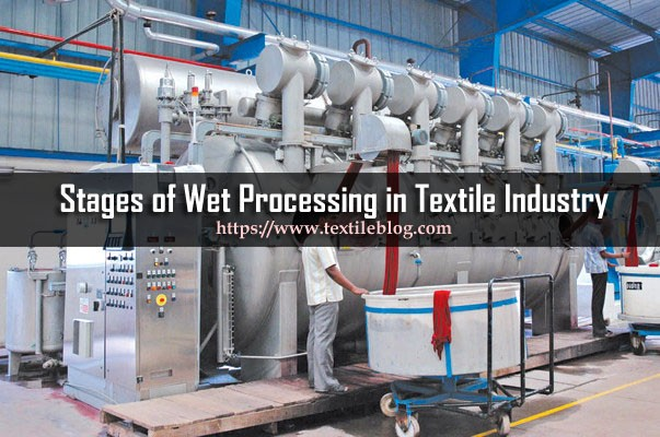 Wet Processing in Textile Industry