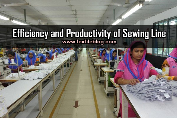 sewing line productivity