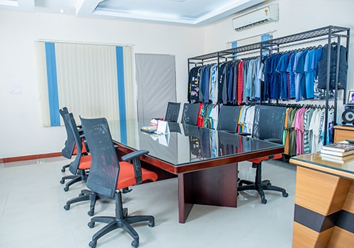 garment merchandising section
