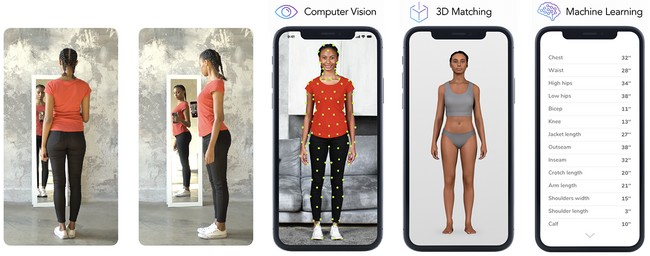 3d body scanning for fashion