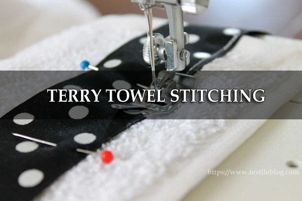 terry towel stitching
