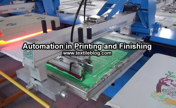 Automation in Textile Printing and Finishing