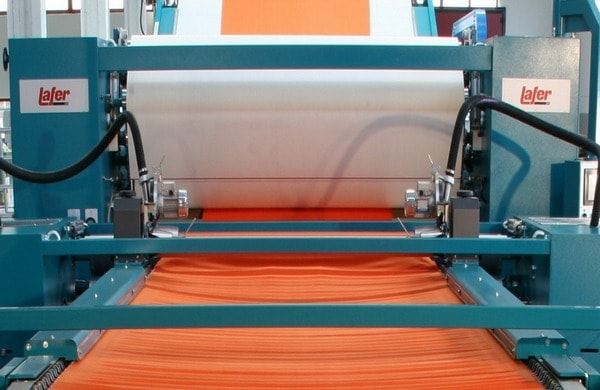 automatic fabric compactor machine