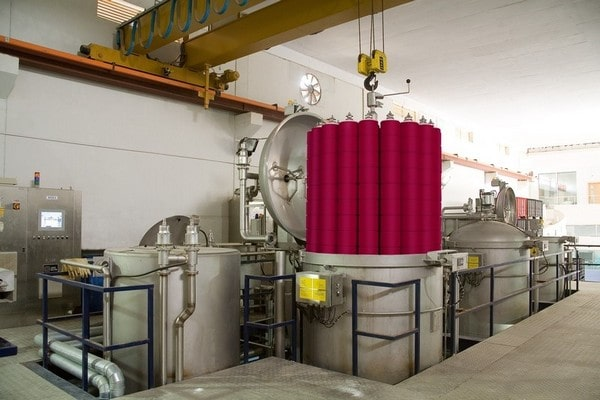 yarn dyeing in textile industry