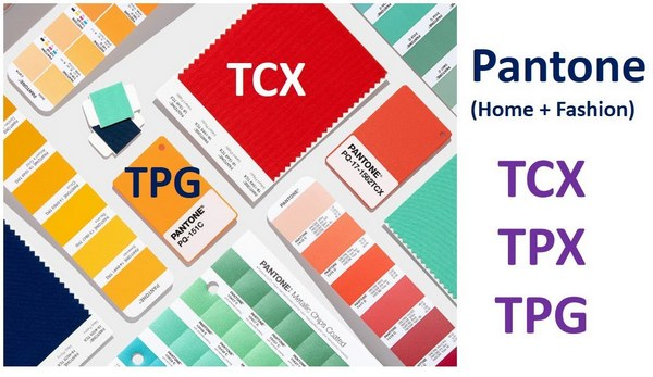Pantone Color Guide in textile