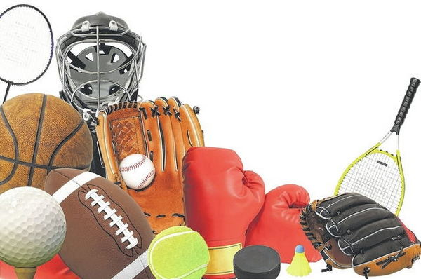sports equipment used in sports textile