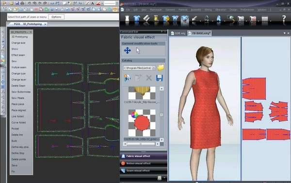 CAD CAM Software in Textile